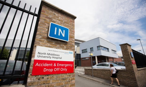 Hospital North Middlesex. Foto: Graeme Robertson / The Guardian
