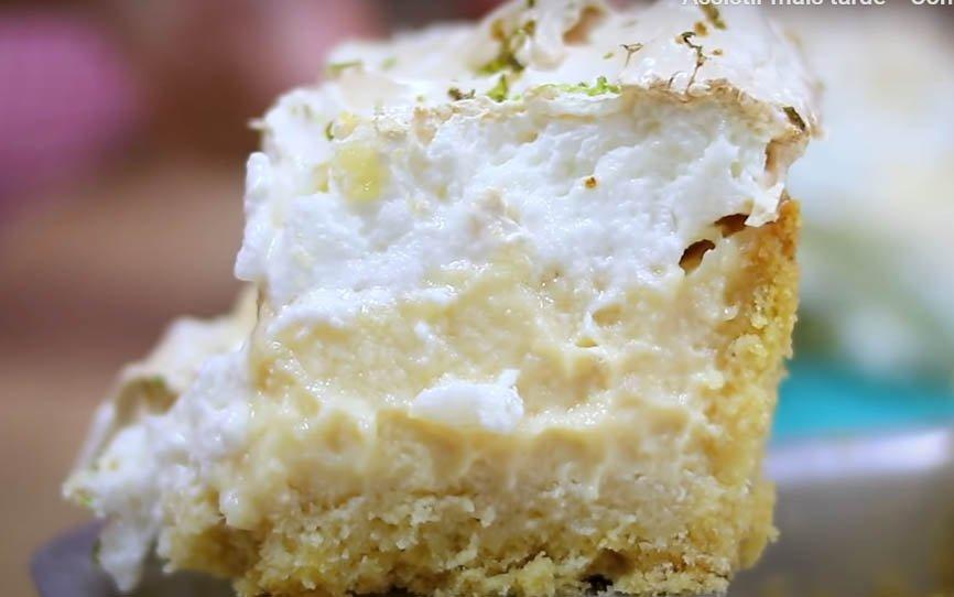 Torta de limão na forma