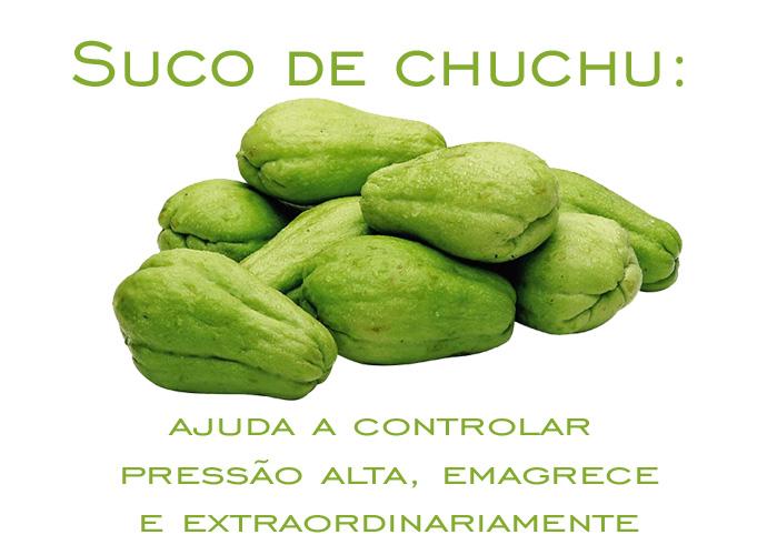 Suco de chuchu: ajuda a controlar pressão alta, emagrece e extraordinariamente
