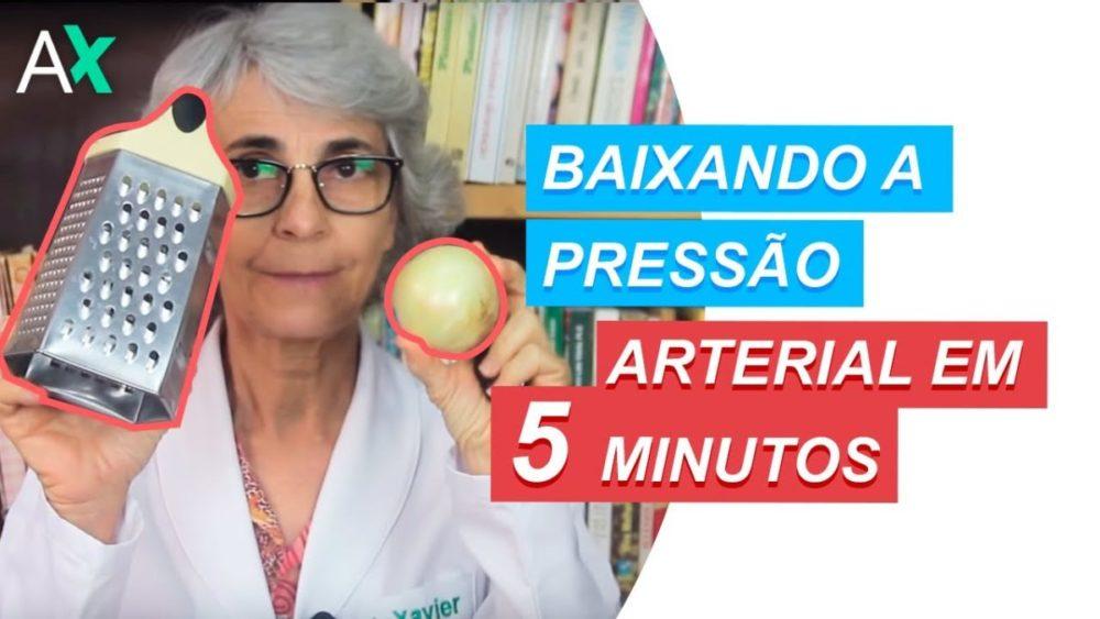 Como baixar a pressão arterial naturalmente em 5 minutos