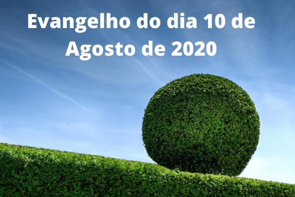 Evangelho-do-dia-10-de-Agosto-de-2020