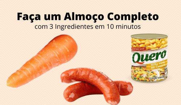 Faça-um-Almoço-Completo-com-3-Ingredientes-em-10 minutos